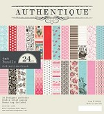 "Authentique - Crush Collection - 6""x6"" Paper Pad"
