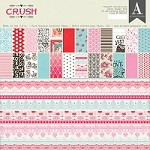 "Authentique - Crush Collection - 12""x12"" Paper Pad"