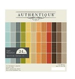 "Authentique - Spectrum Series - 6""x6"" Pad of 24 sheets - Earth Tones"