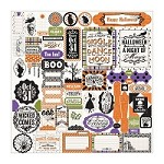 "Authentique - Spirited Collection - 12""x12"" Detail Stickers"