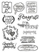 Autumn Leaves - Stampology Clear Stamps Full Sheet - Cardology 2 by Tia Bennett