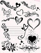 Autumn Leaves - Stampology Clear Stamps Full Sheet - Love Is In The Air by Katie Pertiet