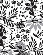 Hero Arts Cling Stamp - Basic Grey - Aspen Frost - Poinsettia