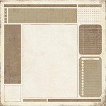 "Basic Grey Basics 12""x12"" Cardstock Manila - Bulletin"