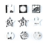 Basic Grey Basics White - Decorative Sticker Small Details