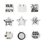 Basic Grey Basics Manila - Decorative Sticker Small Details