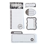 Basic Grey Basics White - Writer's Block Journaling Sets