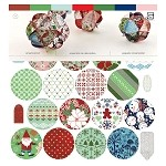 Basic Gray-Nordic Holiday-Ornament Kit