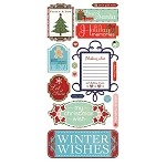 Basic Gray-Nordic Holiday-Titles Stickers