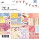 "Basic Grey - Soleil Collection - 6""x6"" Paper Pad"