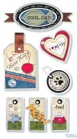 Best Creation - Metal Tag Stickers - Cat Tags