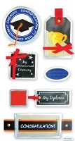 Best Creation - Metal Tag Stickers - Graduation Tags