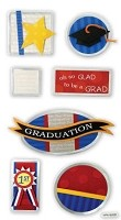 Best Creation - Metal Tag Stickers - Graduation2 Tags
