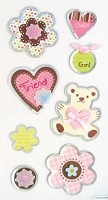 Best Creation - Metal Tag Stickers - Friend Tags