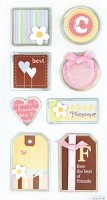 Best Creation - Metal Tag Stickers - Friendship Tags