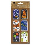 Best Creation - Metal Tag Stickers - Scary Halloween