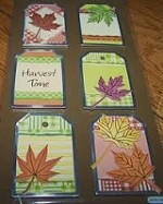 Best Creation - Metal Tag Stickers - Autumn Leaves Fall