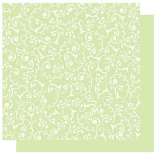 Best Creations-Patterned Glitter Cardstock-Grass Swirl