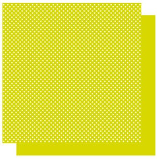 Best Creations-Patterned Glitter Cardstock-Kiwi Dot