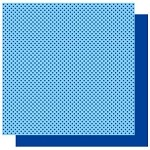 Best Creations-Patterned Glitter Cardstock-Ocean Dot