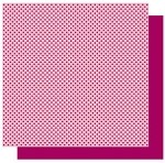 Best Creations-Patterned Glitter Cardstock-Plum Delight Dot