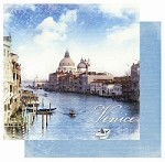 "Best Creation - Europe Collection - 12""x12"" Glitter Cardstock - Venice"
