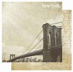 "Best Creation - USA Collection - 12""x12"" Glitter Cardstock - New York"