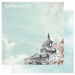 "Best Creation - USA Collection - 12""x12"" Glitter Cardstock - Washington D.C."