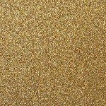 Best Creation Solid Glitter Cardstock - Gold