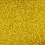 Best Creation Solid Glitter Cardstock - Dark Gold
