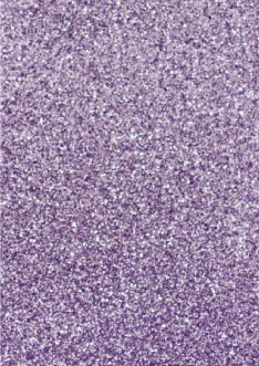 Best Creation Glitter Sticker Paper - Lavender