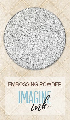 Blue Fern Studios - Imagine Ink Embossing Powder - Icicle (1oz)