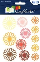 Blue Hills Studio - Color Stories - Yellow Daisy Gel Stickers