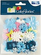 Blue Hills Studio - Color Stories - Blue Potpourri Flowers