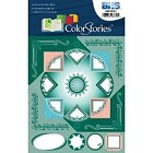 Blue Hills Studio - Color Stories - Green Cardstock Stickers