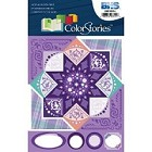 Blue Hills Studio - Color Stories - Purple Cardstock Stickers