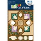 Blue Hills Studio - Color Stories - Brown Cardstock Stickers