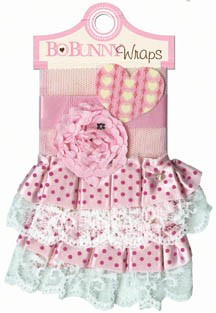 Bo Bunny Crazy Love - Ribbon Rose Wrap