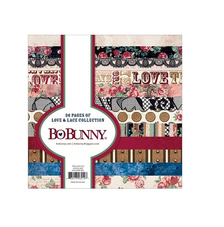 Bo Bunny - Love & Lace Collection - 6x6 Paper Pad