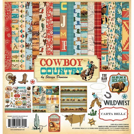 Carta Bella - Cowboy Country Collection - Collection Kit