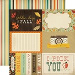 "Carta Bella - Fall Blessings Collection - 12""x12"" cardstock - 4X6 Journaling Cards"