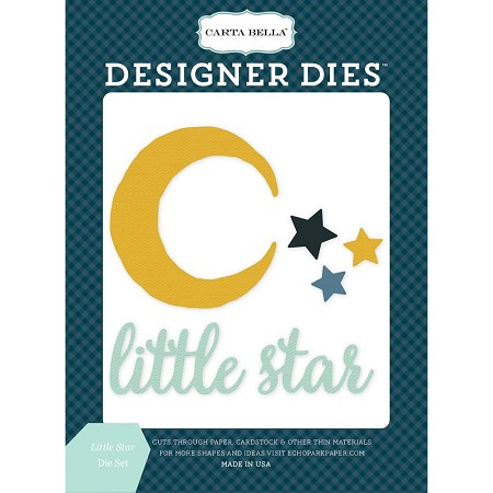 Carta Bella - Rock-a-Bye Baby Boy Collection - Little Star Die Set