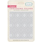 Carta Bella - Travel Stories Collection - Embossing Folders - Ogee