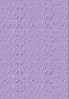 Cart-Us  Embossing Folder - Size A2 - Trendy Braiding