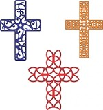 Cheery Lynn Designs - DIE - Crosses Set of 3