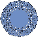 Cheery Lynn Designs - DIE - French Pastry Tiny Doily