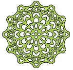 Cheery Lynn Designs - DIE - Canadian Kaleidoscope Tiny Doily