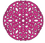 Cheery Lynn Designs - DIE - Waltzing Matilda Tiny Doily