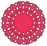 Cheery Lynn Designs - DIE - Polynesian Sails Mini Doily