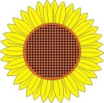 Cheery Lynn Designs - Doily Die - Sunflower